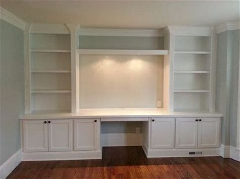 Built In Desk Cabinets by Built In Cabinets For Your Home Ofice Desk Ideas Home