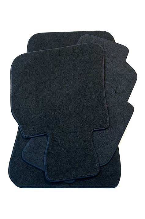 bmw genuine tailored floor mats set velour anthracite e87