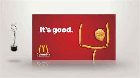 McDonald's of Columbia Print Ad – Visionworks Marketing Group