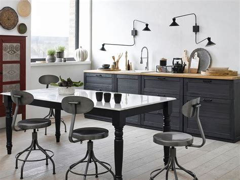 deco cuisine bois cuisine bois cuisine et bois black and wood