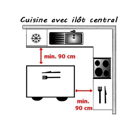 cuisine dimension dimension îlot central îlot central cuisine