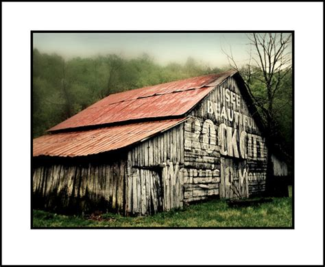 Vintage barn advertising - a gallery on Flickr
