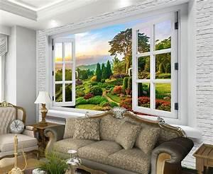Fototapete Fenster Aussicht : details zu 3d manor fenster fototapeten wandbild ~ Michelbontemps.com Haus und Dekorationen
