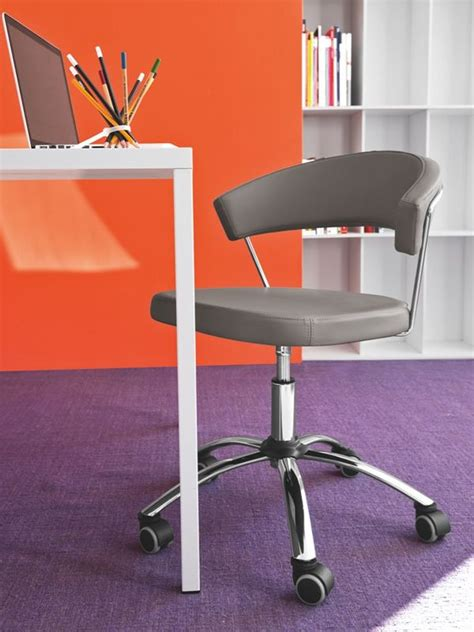 Office Chairs York by Cs624 New York Calligaris Office Chair Swivel And