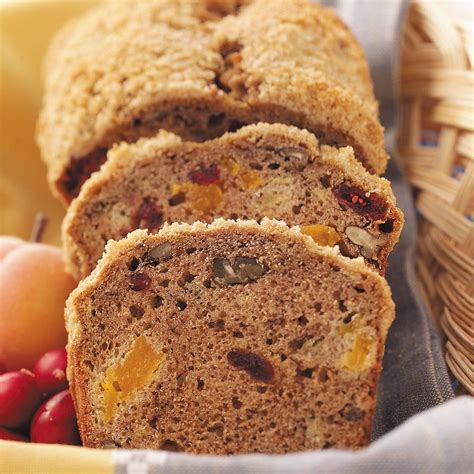 streusel fruit bread recipe taste  home
