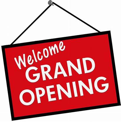 Grand Opening Restaurant Welcome