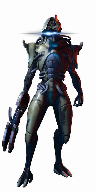 Geth Mass Effect Infiltrator Hunter Justice Tattoo