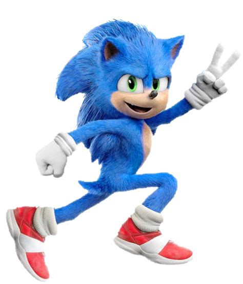 Sonic the Hedgehog (Movie) (3) - PNG by Captain-Kingsman16 ...