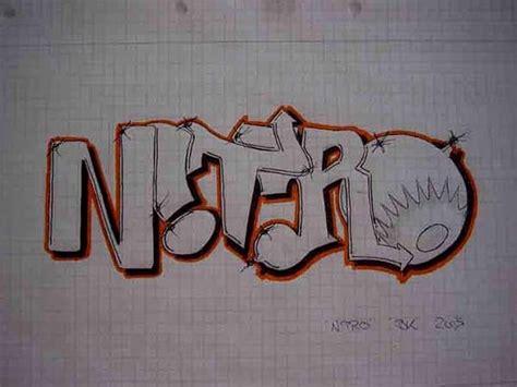 Graffiti Paper : Graffiti Alphabet Sketch