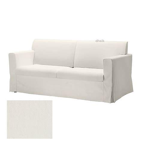 white slip covered sofa ikea sandby 3 seat sofa slipcover cover blekinge white