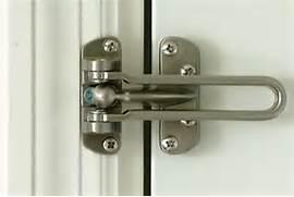 Exterior Door Latch Guard by Green Cay Village News Security Add A Door Guard To Your Front Door