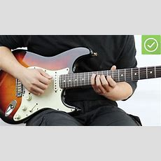 How To Learn To Play Electric Guitar 10 Steps (with Pictures