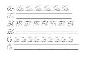 Free Cursive Handwriting Practice Worksheets