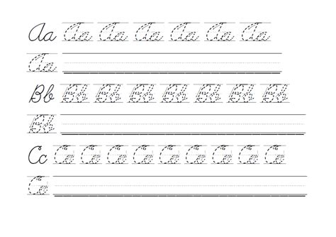 handwriting letters practice worksheets letter