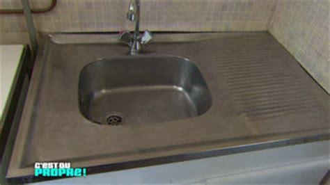 comment nettoyer inox cuisine comment nettoyer evier aluminium la réponse est sur