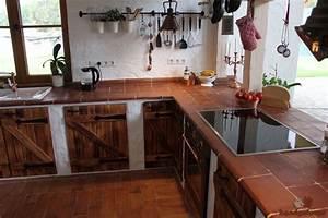 Terracotta Fliesen Küche. terracotta fliesen in einer berliner k che ...
