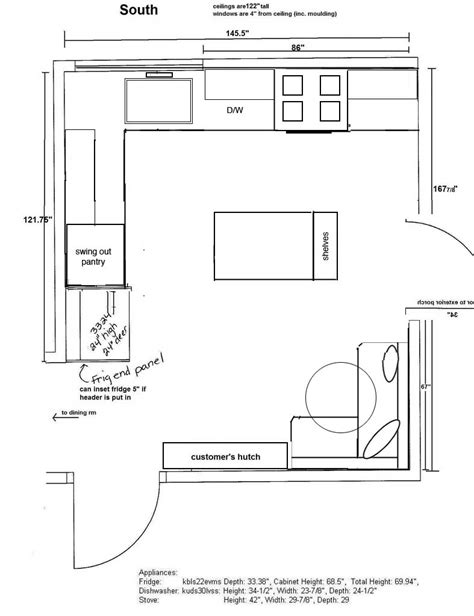 galley kitchen floor plans small l shaped kitchen layout planner besto 6777