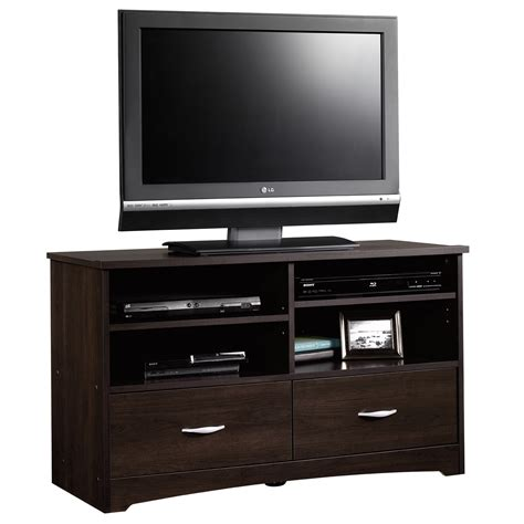 Beginnings  Tv Stand  413045  Sauder. Industrial Console Table. Bathroom Vanities 40 Inch. Marsillio's Fairfield Ct. 36 Inch Tall Console Table. Dining Room Sideboards. Alaska Granite. Luxury Bedrooms. Reading Table