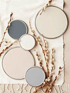 Neutral paint colors for Kitchen cabinet trends 2018 combined with beauty salon wall art