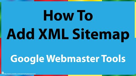 How Add Xml Sitemap Google Search Console Youtube