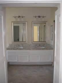 simple but chic bathroom vanity mirrors doherty house