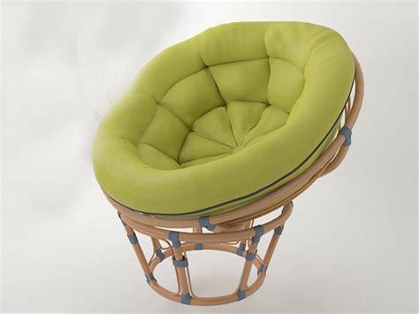 Oversized Wicker Papasan Chair by Wicker Chair Papasan 3d Model Obj Cgtrader