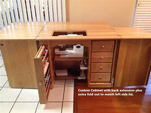 Heirloom Classic Solid Wood Sewing Cabinet, Amish Crafted