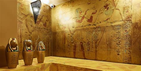 Play the Egyptian Adventure game at Scavenger Escape Room