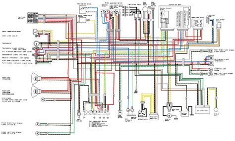 Suzuki Gt500 Wiring Diagram by Zxr 400 L1 L4 Uk Colour Wiring Race Loom Mods Www