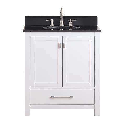 Lowes 30 Inch White Bathroom Vanity by Avanity Modero Vs30 Modero 30 In Bathroom Vanity Combo