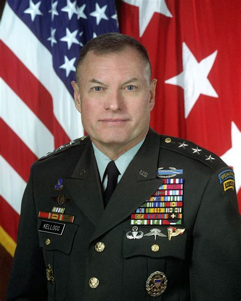 kellogg army lt gen keith joseph portrait military file staff wikipedia chief president executive vice states united security national wikia