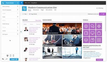 Sharepoint Spfx Modern Shortpoint Homepage Pages Theme