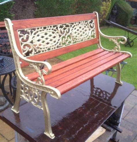 Rod Iron Benches by Wrought Iron Bench Ebay