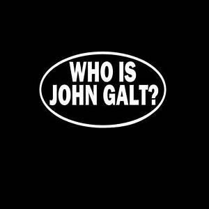 Who is John Galt Decal Sticker – Custom Sticker Shop