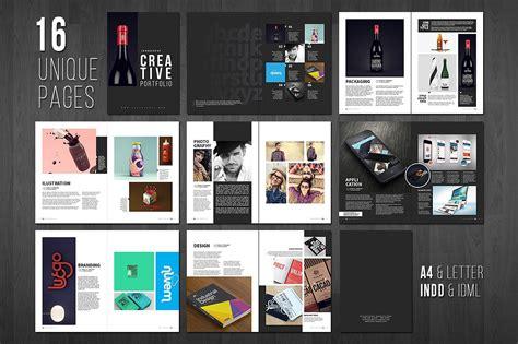 portfolio layout examples  psd ai eps vector