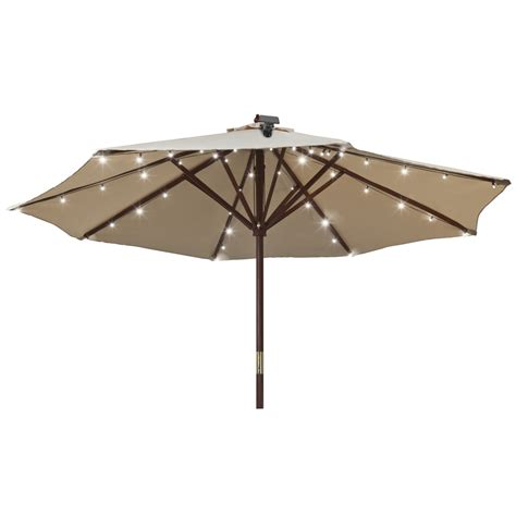 umbrella with solar lights 5 solar powered gadgets to green your backyard modernize