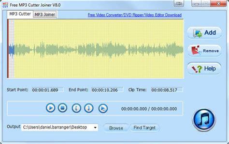 Mp3 audio cutter baixar de software windows