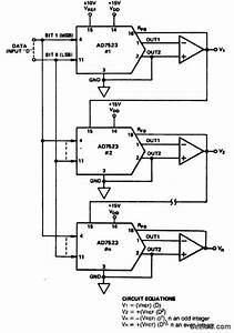 Index 11 - A  D-d  A Converter Circuit - Circuit Diagram