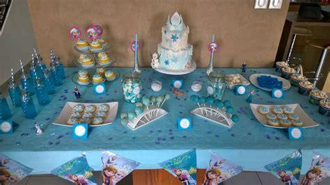 sweet table quot reine des neiges quot pour les 4 ans de ma princesse le monde de carla