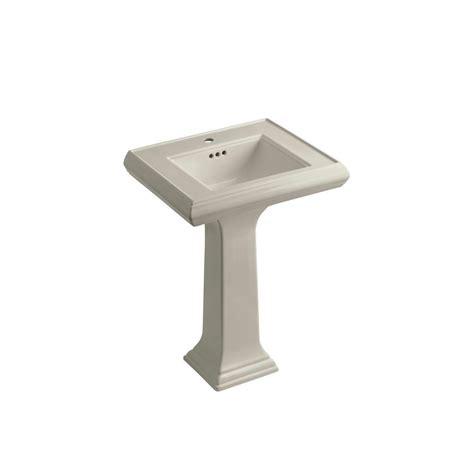 memoirs pedestal sink home depot kohler memoirs ceramic pedestal combo bathroom sink in