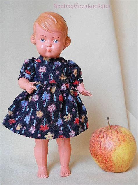 schildkroet doll inge german vintage celluloid doll