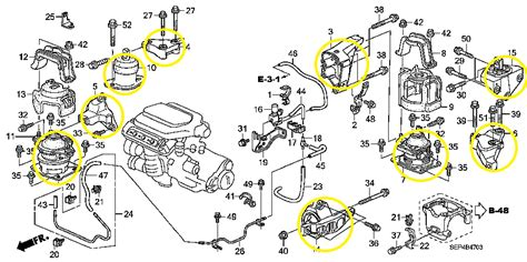 Acura Legend Motor Mount Diagram by Honda Legend 3 2 1993 Auto Images And Specification