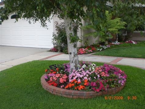 Front Yard Landscaping Ideas Around Trees Design-dma