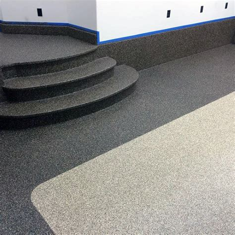 90 garage flooring ideas for paint tiles and epoxy coatings - Garage Floor Paint Rubber