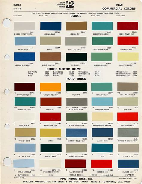 original paint colors for cars 1969 ford truck jpg 610 x 786 66 ride ford ford trucks and early bronco