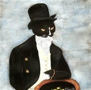 cat tuxedo mr darcy cat tuxedo cat dressed in suit pride by
