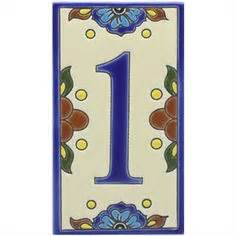 house number plaque house numbers address sign italian