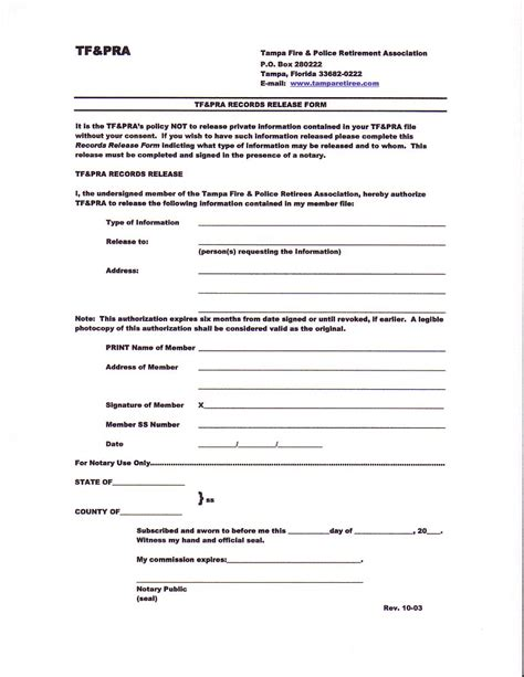 release of information form apps forms