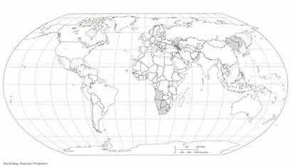 Coloring Map Globe Printable Pages Library Clipart