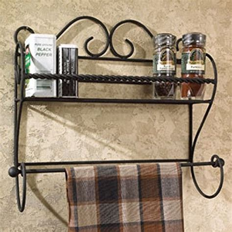Wire Spice Shelf by Details About New Country Farmhouse Black Wire Wall